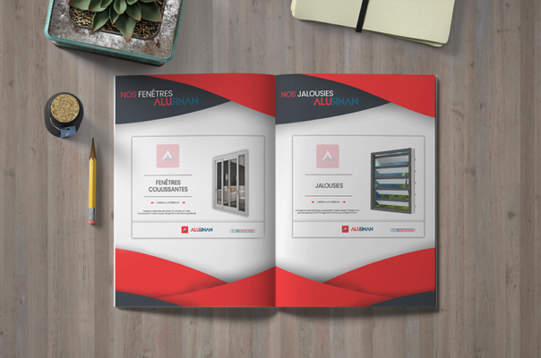 Creation of a product catalogue by Lakssya - web and e-marketing agency