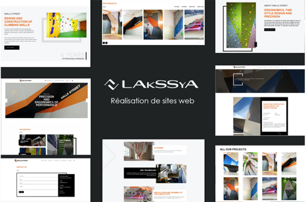 Creation of website - Lakssya, web and e-marketing agency