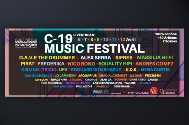 Line-up of C-19 Music Festival