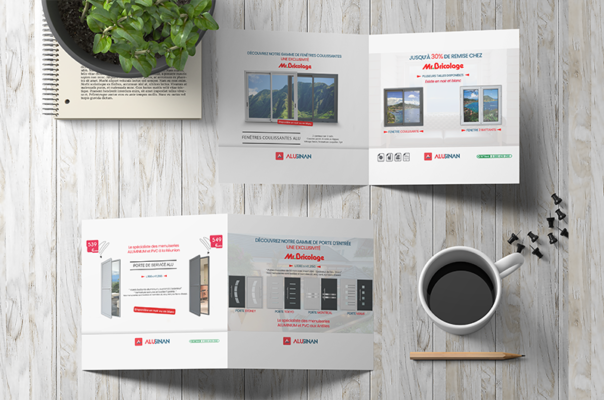 Creation of brochures and banners - Lakssya