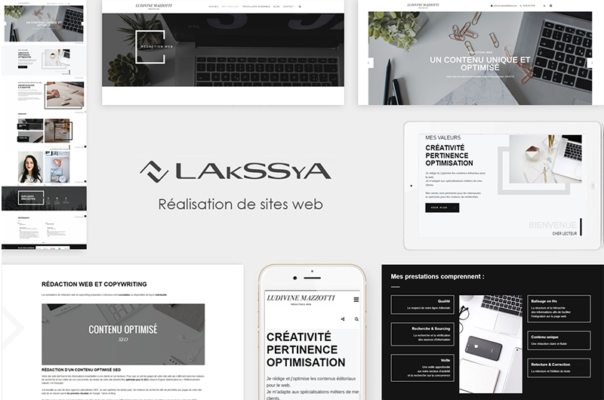 Website made by Lakssya - web and e-marketing agency